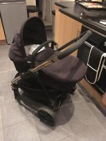 iCandy Strawberry 2 pushchair (carry cot and toddler seat included)