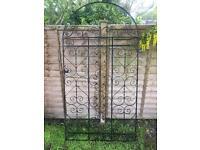 2 x metal garden gates