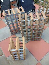 Selection of wine racks