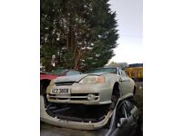 2004 HYUNDAI COUPE 1.8 16V PETROL BREAKING FOR PARTS