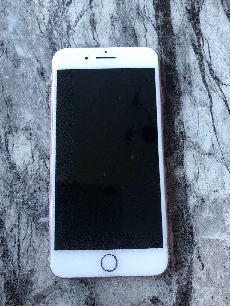 Apple Iphone 7 Plus Rose Gold 32gb Locked To Vodafone In