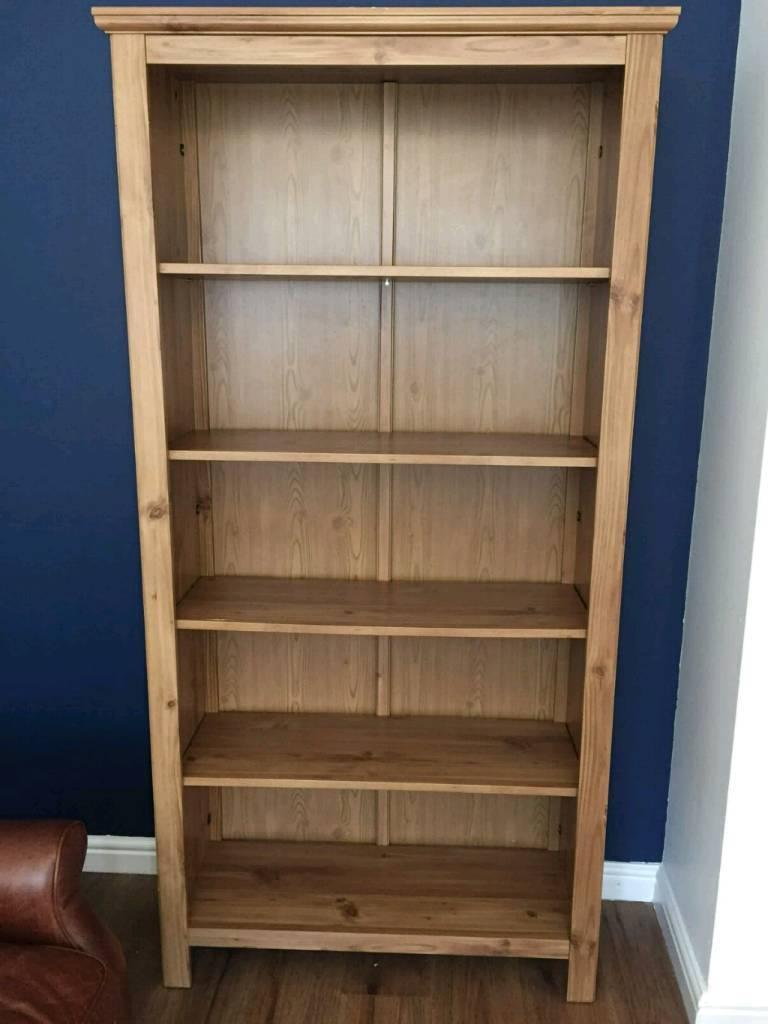 Ikea hemnes oak effect bookcase - dismantled