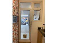 Used Upvc door and window