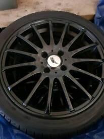 Aez alloy wheels