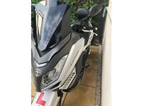 Neco Alexone Automatic 18 plate Scooter 125cc barely used only 7 miles