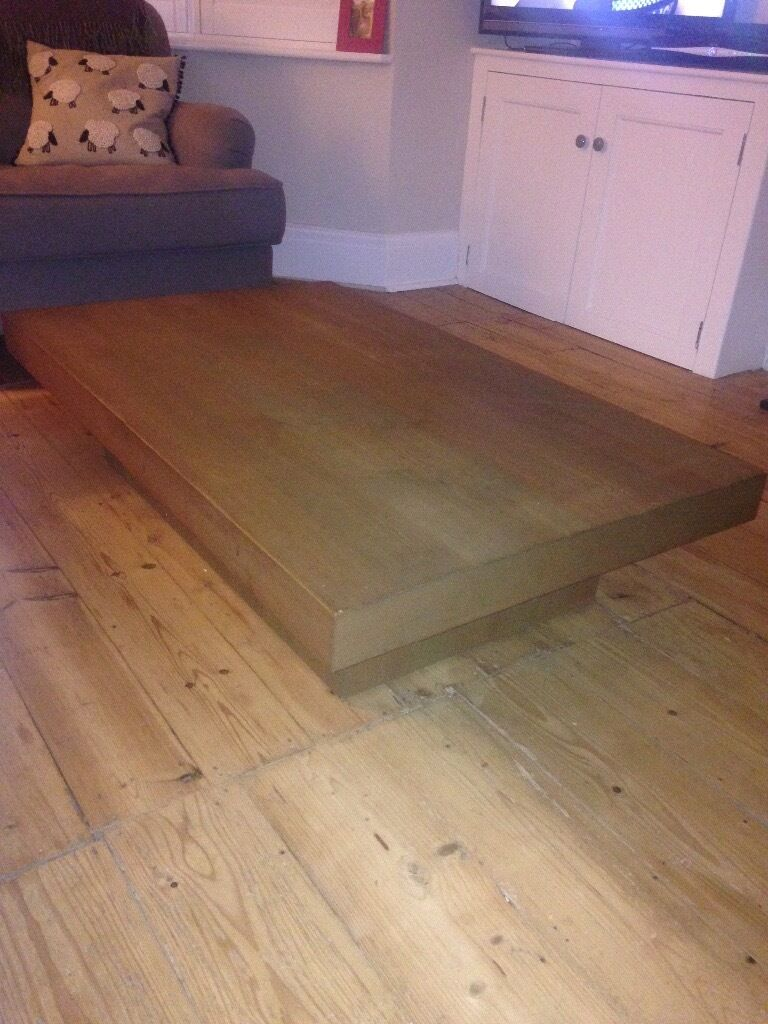 Wooden coffee table good quality