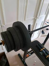50kg Bench Press for sale