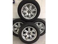 Range Rover evoque 18 inch wheels and tyres will also fit a freelander