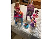 Barbie pet grooming salon/shop
