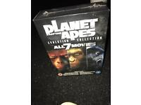 Planet of the Apes - all 7 movies