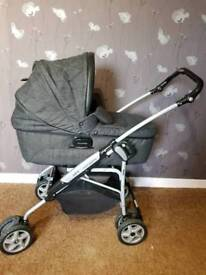 Mamas and Papas pram, pushchair and car seat