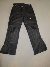 Mens Textile Motorcycle Trousers