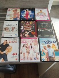 DVD Film Collection (Rom Coms)