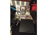 PS3 250GB COMES WITH CONTROLLER AN GAMES FULLY WORKING