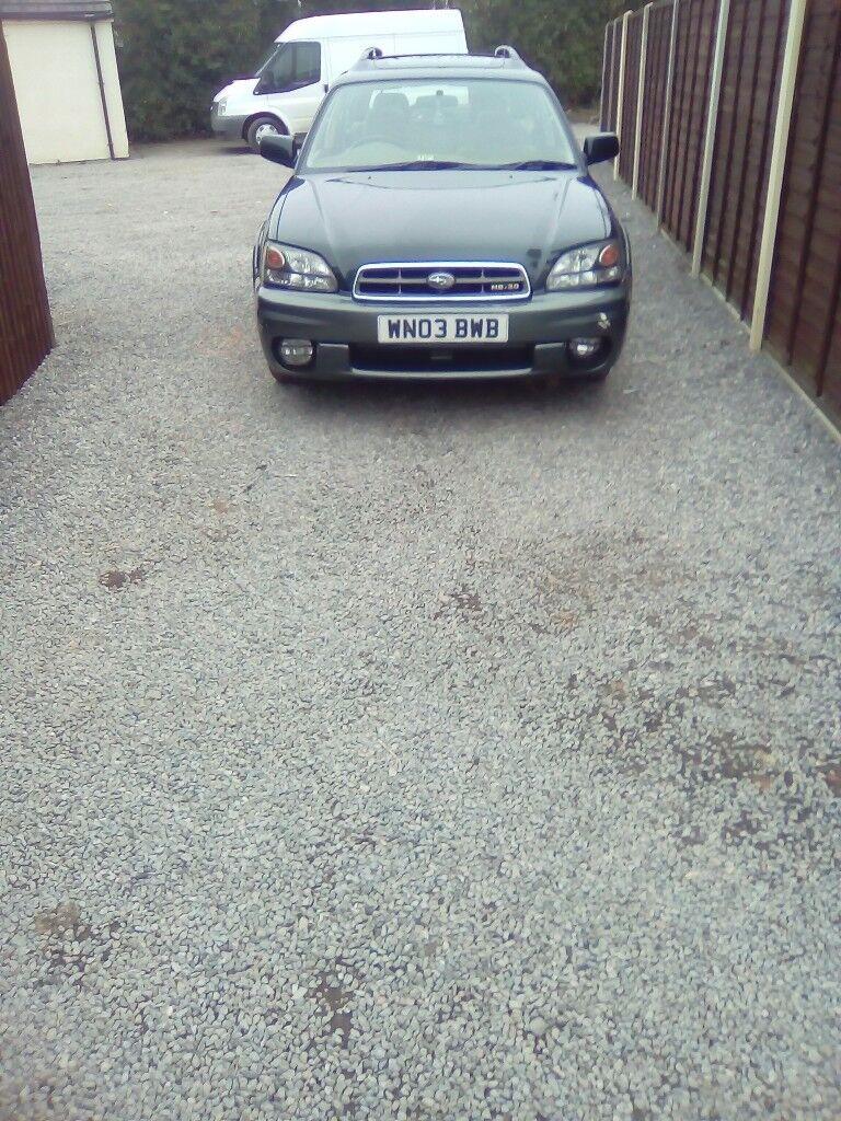 Subaru legacy out back