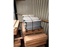 Heavy Duty Pallet Racking Steel Shelves Shelving Decking Boards 900mm or 750mm