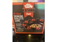Casino roulette drinking game