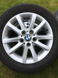 Genuine BMW Alloy Wheels with Tyres
