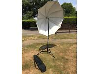 Photography Stand and Reflective Umbrella with carry bag