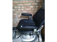 2 used barbing chairs