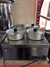 4 Pot Bain Marie - EU206 (supper sale)