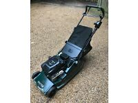 Cheap pro hayter harrier 48 lawn mower!