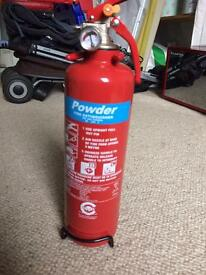Band new, never used premium FSS UK 1 KG ABC dry powder fire extinguisher