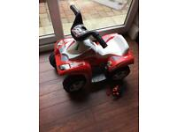 Recharable kids quad bike with charger suitable 1-2 years old