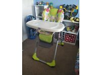 excellent condition Chico baby high chair
