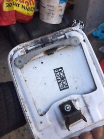 Toyota mr2 mk2 fuel flap in white