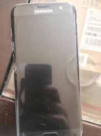 Samsung galaxy S7 edge black