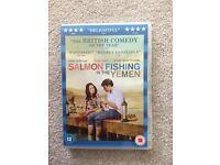 Salmon fishing in the yemen dvd, brand new
