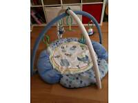 Baby boys play mat gym Mothercare