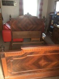 Antique French bed £200. ono ,
