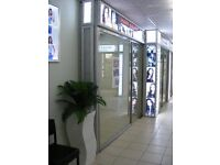 Hair Salon to let fully fitted in beauty mall all new fitting rent only £80pw ready to start