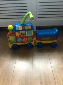 Toddler ride on train