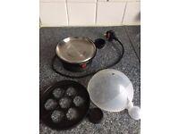 Egg boiler for 7 eggs