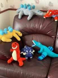 New hand knitted Dinosaurs