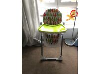 Baby high chair for sale!!! Great condition!!!