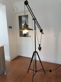 Lamp. Floor light.