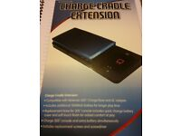 Charge cradle for 3ds with spare 3ds battery