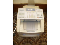 Brother Fax-8360P Mono laser fax in good working condition & new sealed Brother Dr-6000 drum.