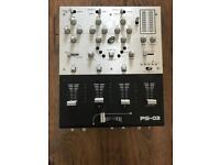 gemini ps-03 DJ mixer like new.
