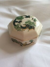 Masons Chartreuse trinket box