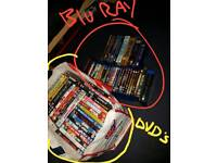 Dvds, Blu rays & box sets