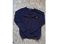 Italian branded wool man Cardigan conte of Florence