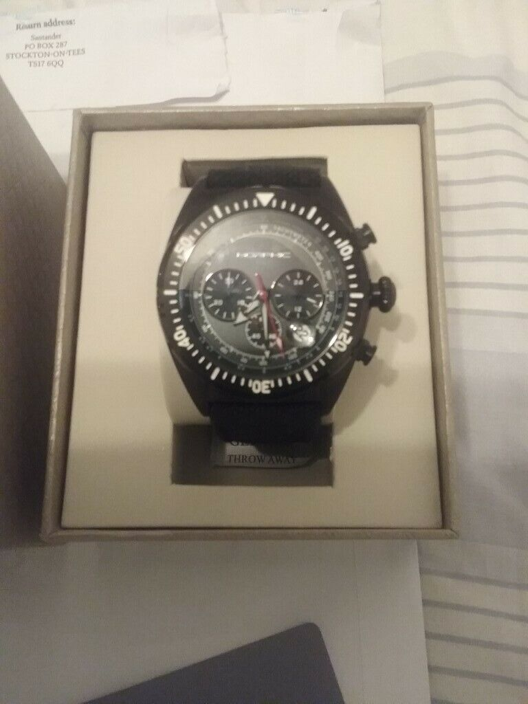 07c285201 Mens Morphic M53 series watch, £250 worth, unwanted gift worn once ...
