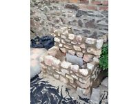 Welsh mixed Stone for raised bed/stone planter