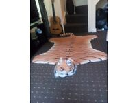Lovely tiger rug