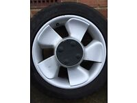 """Set of ford 15"""" alloys"""
